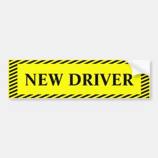Adesivo De Para-choque Motorista novo