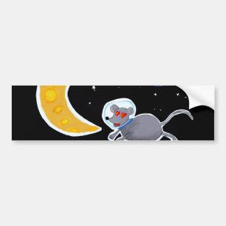 Adesivo de Para-choque - Mouse In Space