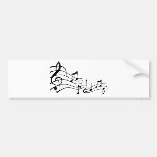 Adesivo De Para-choque Música (Music)
