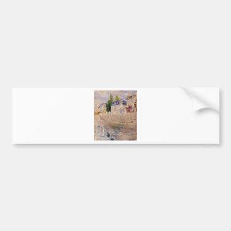 Adesivo De Para-choque O cais em Bougival por Berthe Morisot
