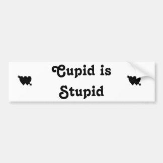 Adesivo De Para-choque O Cupido é 2 estúpidos