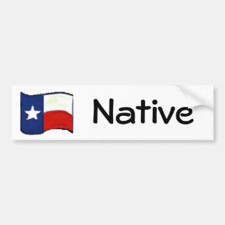 Adesivo De Para-choque Orgulho de Texas