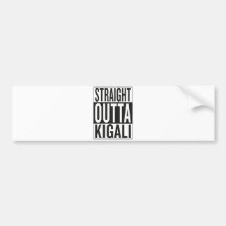 Adesivo De Para-choque outta reto Kigali