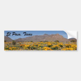 Adesivo De Para-choque Papoilas de El Paso