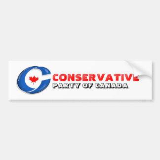 Adesivo De Para-choque Partido conservador do autocolante no vidro