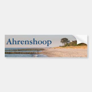 Adesivo De Para-choque Praia de Ahrenshoop