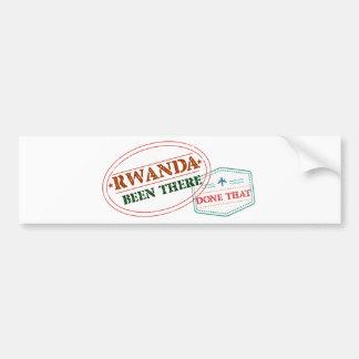 Adesivo De Para-choque Rwanda feito lá isso