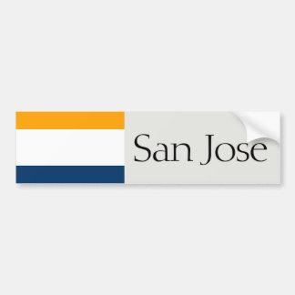 Adesivo De Para-choque San Jose simplificou o autocolante no vidro