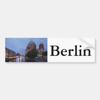 Adesivo De Para-choque Série e catedral do rio em Berlim, Alemanha