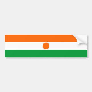 Adesivo De Para-choque símbolo da nação da bandeira de país de niger