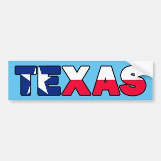 Adesivo De Para-choque Texas