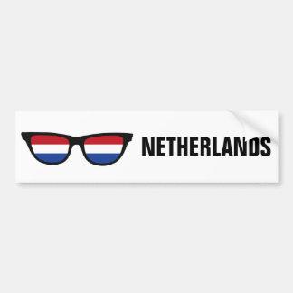 Adesivo De Para-choque Texto das máscaras holandesas & bumpersticker