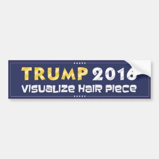 Adesivo De Para-choque Trunfo 2016: Visualize a parte do cabelo