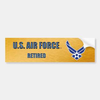 Adesivo De Para-choque U.S. Autocolante no vidro traseiro aposentado