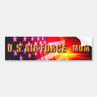 Adesivo De Para-choque U.S. Autocolante no vidro traseiro da mamã da