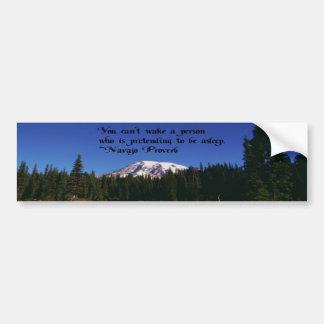 Adesivo De Para-choque Umas citações famosas do Navaho