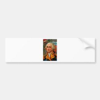 Adesivo De Para-choque Vintage de George Washington