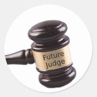 Adesivo Design do Gavel para juizes e advogados de