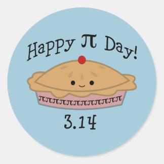 Adesivo Dia feliz bonito do Pi!