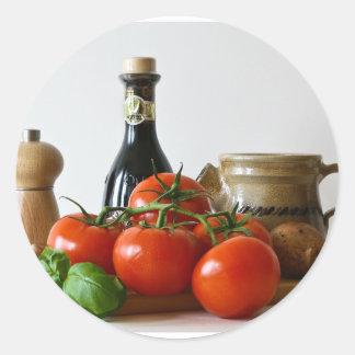 Adesivo Do tomate vida ainda