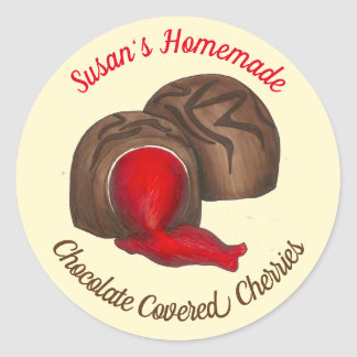 Adesivo Doces com cobertura em chocolate caseiros das