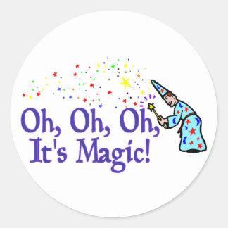 Adesivo É mágico