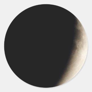 Adesivo Eclipse lunar (10) 12:55 am partido do 15 de abril
