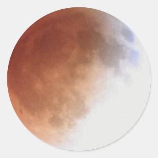 Adesivo Eclipse lunar (13) 1:06 am partido do 15 de abril