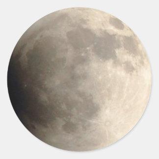 Adesivo Eclipse lunar (4) 12:01 am partido do 15 de abril