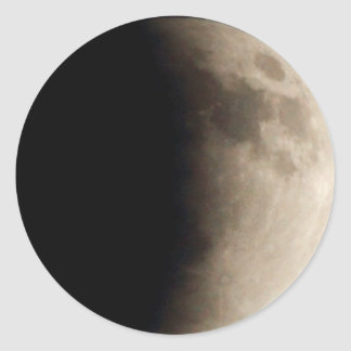 Adesivo Eclipse lunar (7) 12:31 am partido do 15 de abril