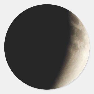 Adesivo Eclipse lunar (9) 12:49 am partido do 15 de abril