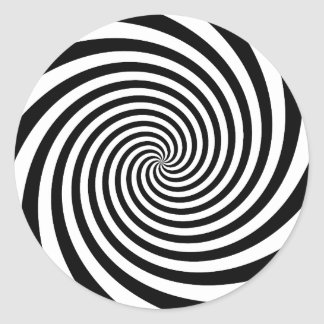 Adesivo Espiral preta