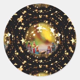 Adesivo Estrelas infantis de Jesus da Virgem Maria da ucha
