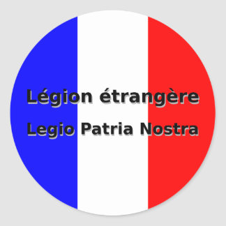 Adesivo Etrangere da legião - Legio Patria Nostra