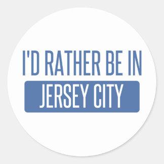Adesivo Eu preferencialmente estaria em Jersey City