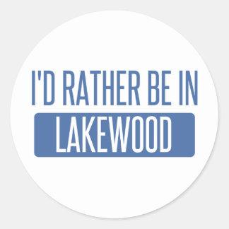 Adesivo Eu preferencialmente estaria em Lakewood WA