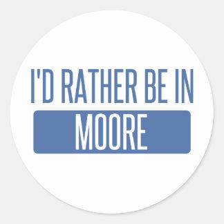 Adesivo Eu preferencialmente estaria em Moore