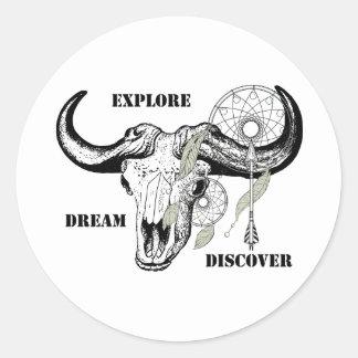 Adesivo Explore o sonho descobrem
