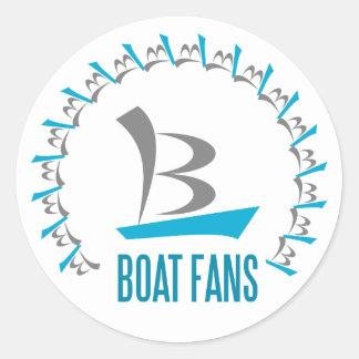 Adesivo fãs do barco