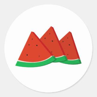Adesivo Fatias da melancia