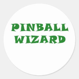 Adesivo Feiticeiro do Pinball