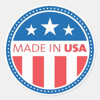Adesivo Feito em EUA América
