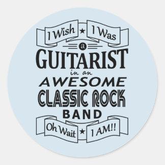 Adesivo Grupo de rock clássico impressionante do