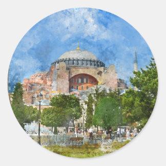 Adesivo Hagia Sophia em Sultanahmet, Istambul