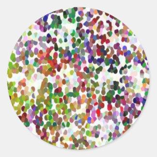 Adesivo HOLI - Festival das cores - ponto multicolorido