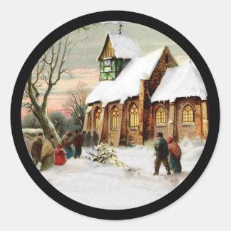 Adesivo Igreja da vila do Natal