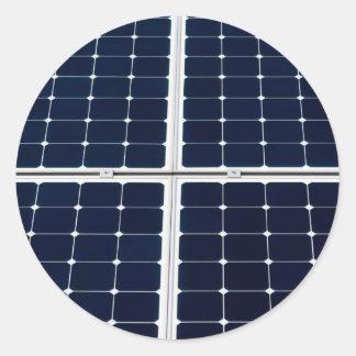 Adesivo Imagem do painel de energias solares engraçada