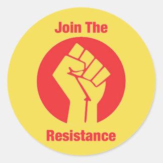 Adesivo Junte-se à resistência