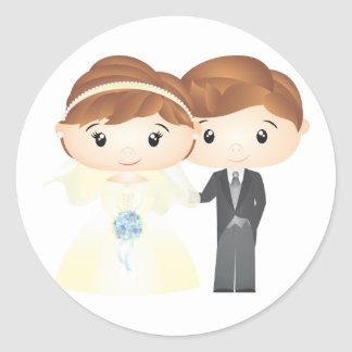 Adesivo Just Married - Sticker