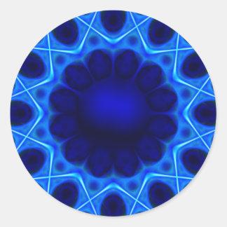Adesivo laser azul #3